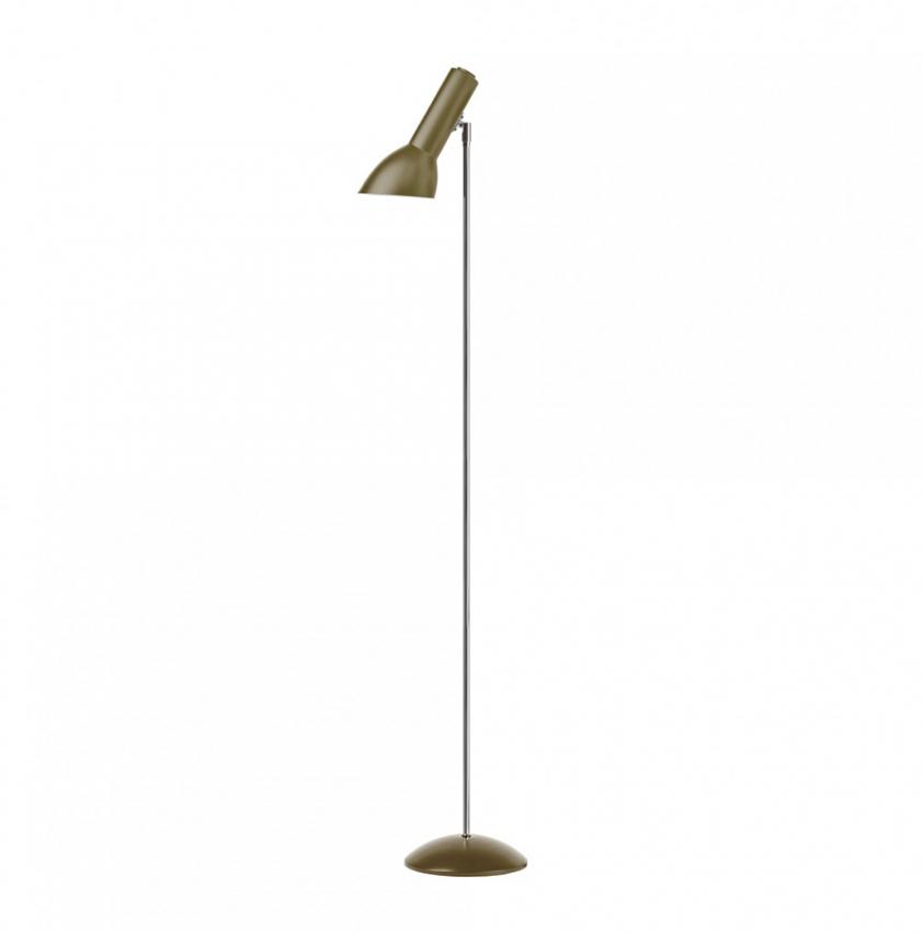 Oblique Golvlampa, Olivgrön