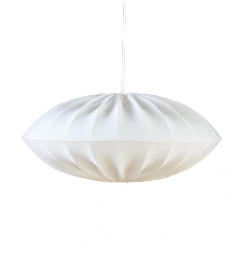 UFO Lampskärm vit liten