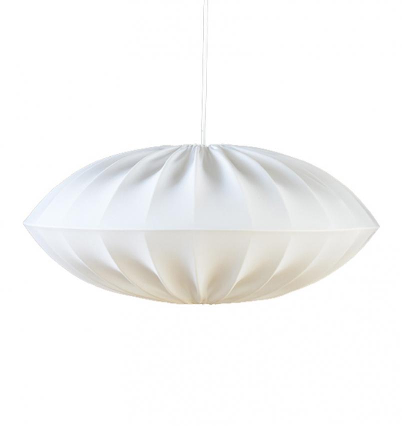 UFO Lampskärm vit stor