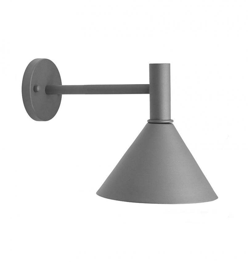 MiniTripp Fasadlampa Grå