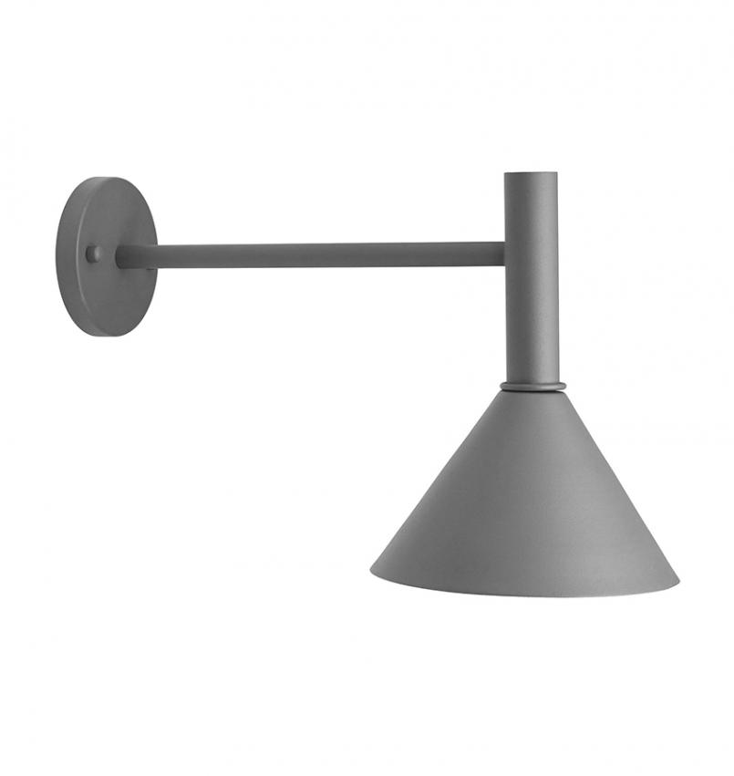 Tripp Fasadlampa Grå