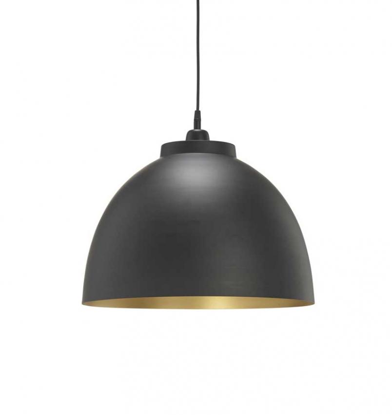 Rochester Taklampa svart/guld 45