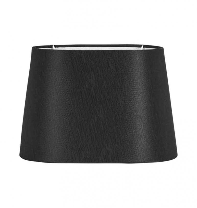 Omera Sidenlook lampskärm svart 27