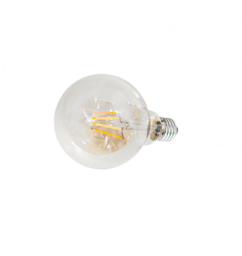 E27 LED dimbar 4W Ø95mm Klarglas