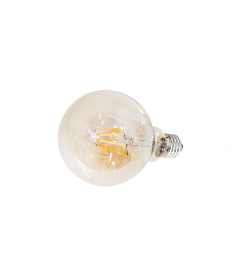E27 LED Dimbar 4W Ø125mm Amber
