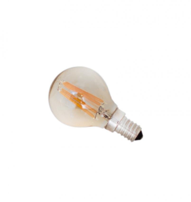 E14 LED dimbar 4W Ø45mm Amber