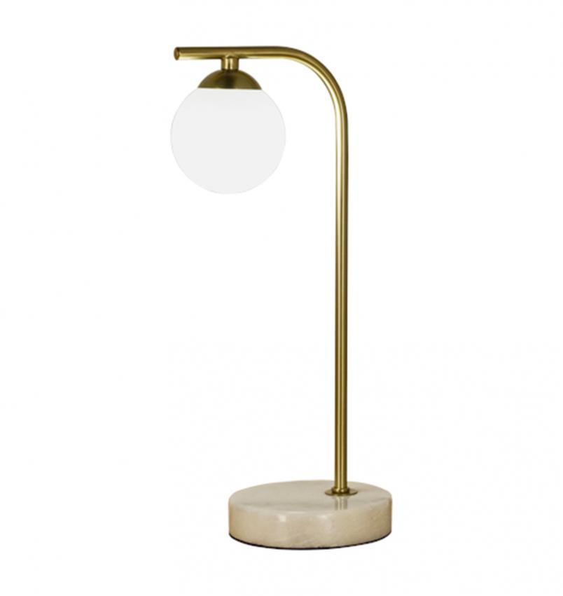 Orfeus bordslampa mässing
