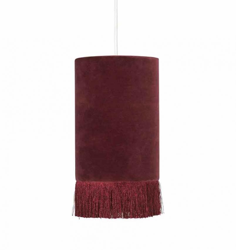 Alexis Fönsterlampa vinröd 15