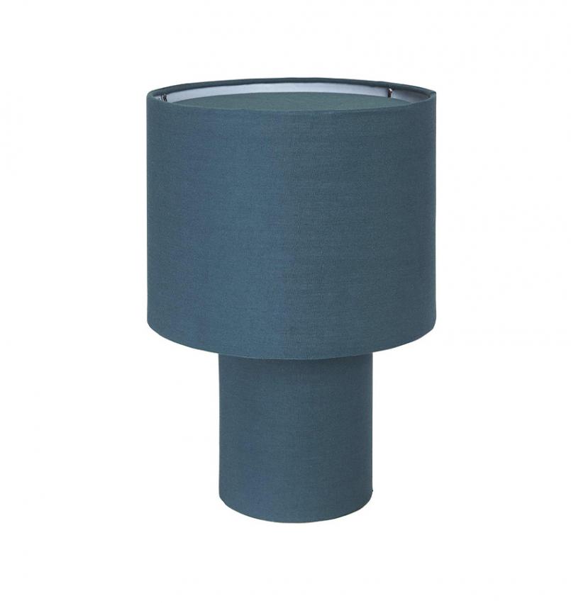 Leah bordslampa blå 28