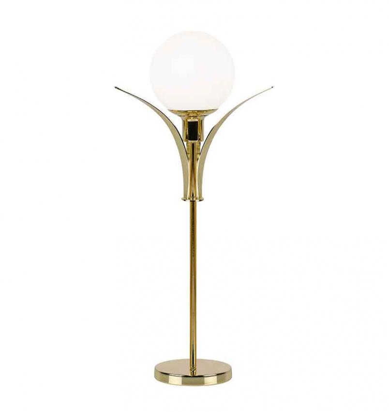 Bordslampa Savoy High Mässing