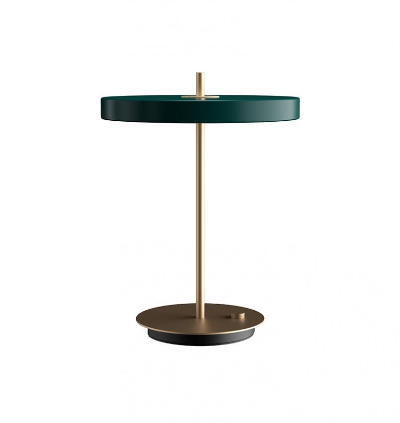 Asteria bordslampa, Grön
