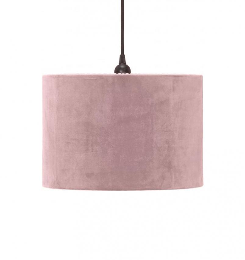 Classic cylinder lampskärm rosa 32