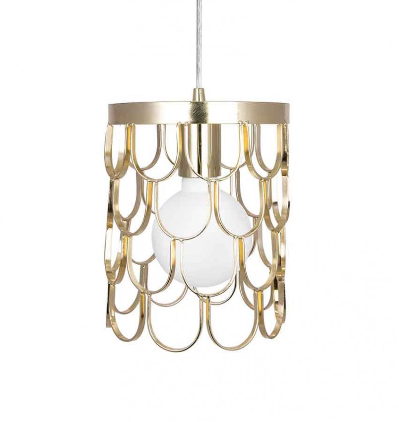 Takpendel Gatsby 18 Mässing – Globen Lighting