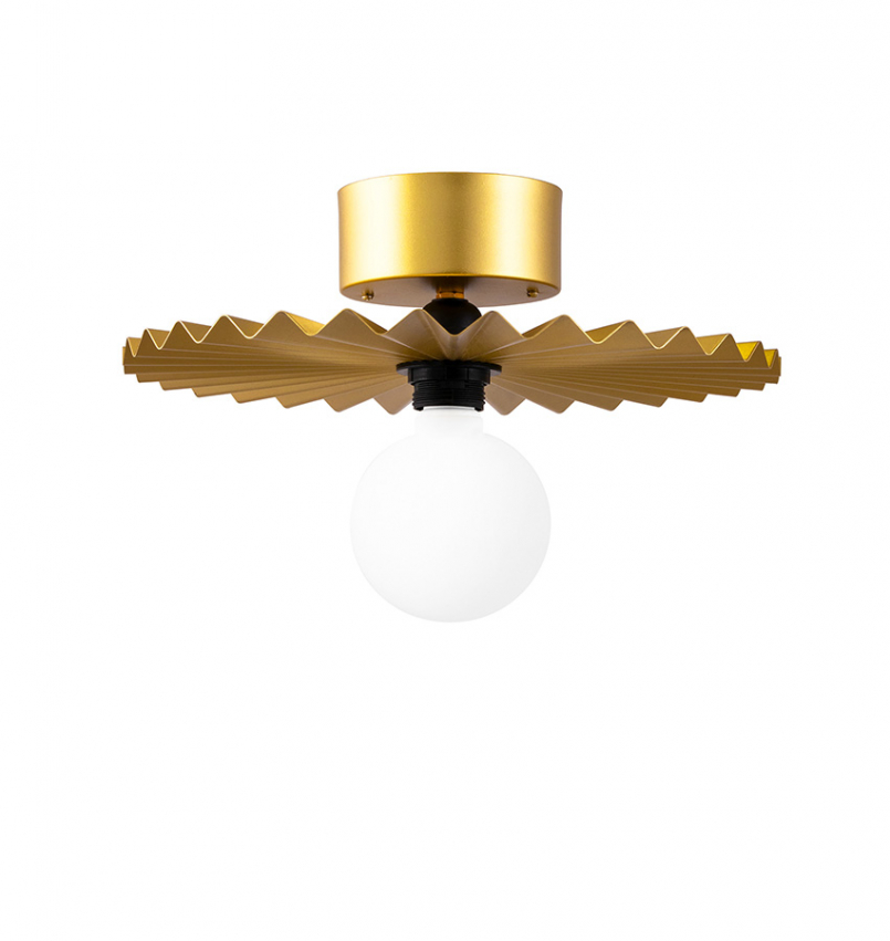 Omega plafond/vägg guld 35