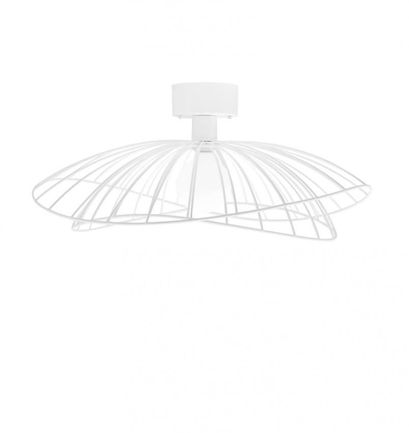 Ray Plafond / Vägglampa, Vit