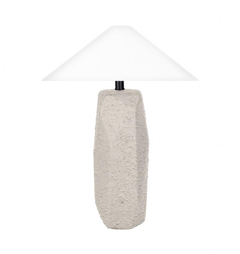 Massi bordslampa grå