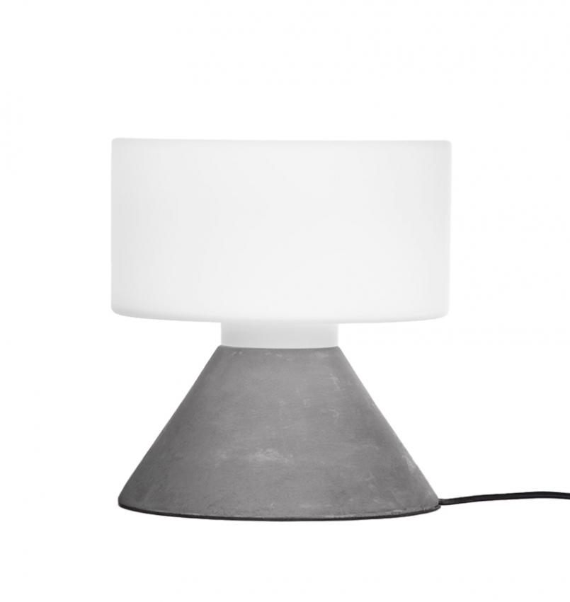 Concrete Bordslampa Grå