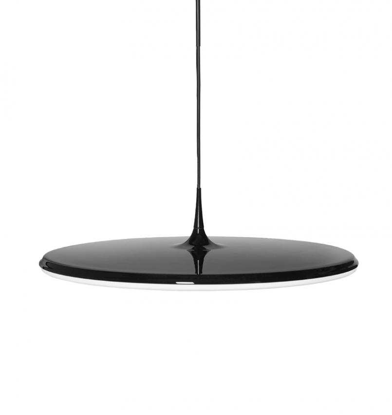 Taklampa Tip 600 svart
