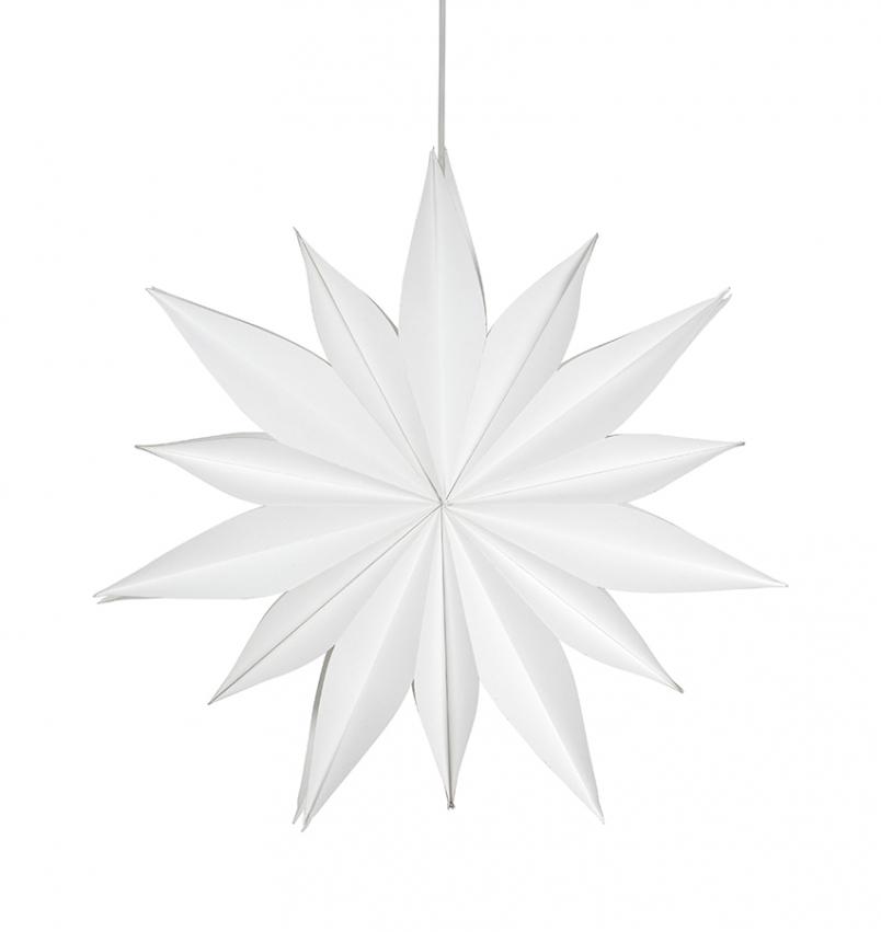 Sirius Julstjärna Vit 60cm