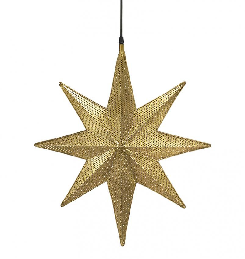 Capella Stjärna Guld 40cm
