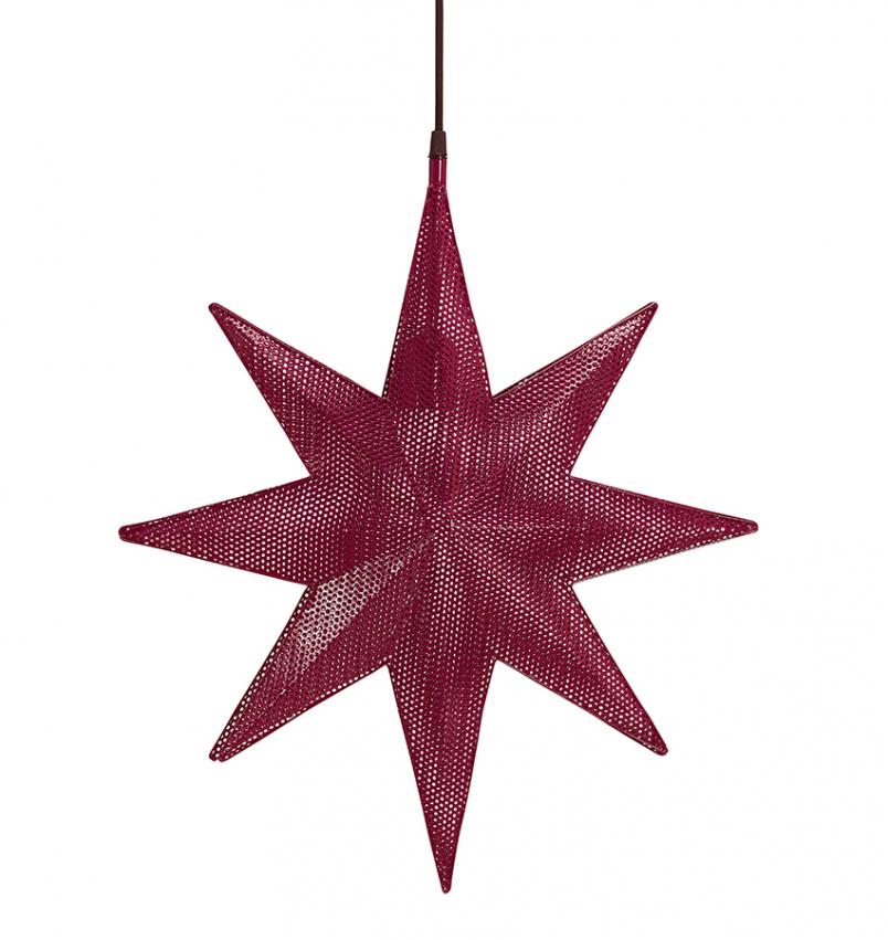Capella Stjärna Röd 40cm