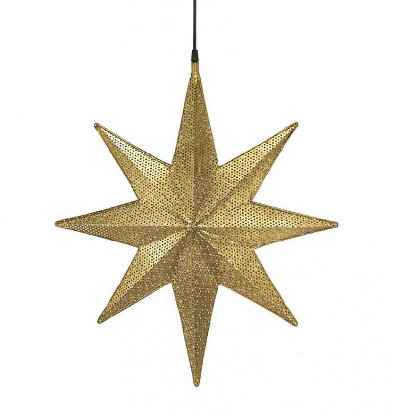 Capella Stjärna Guld 50cm