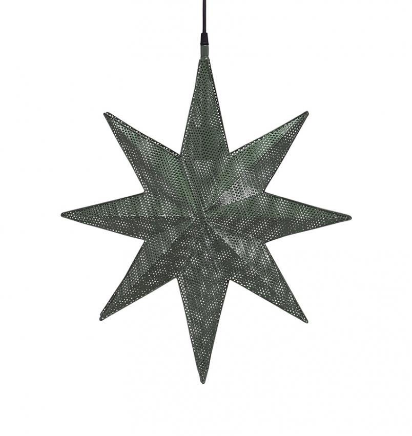 Capella Stjärna Grön 50cm