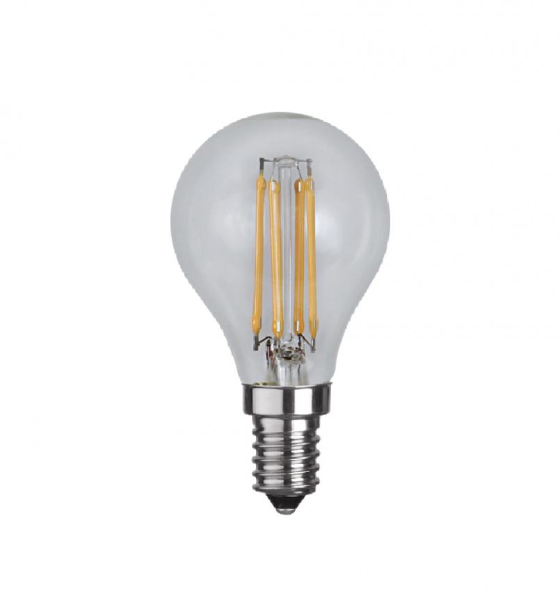 LED-lampa E14 P45 klar