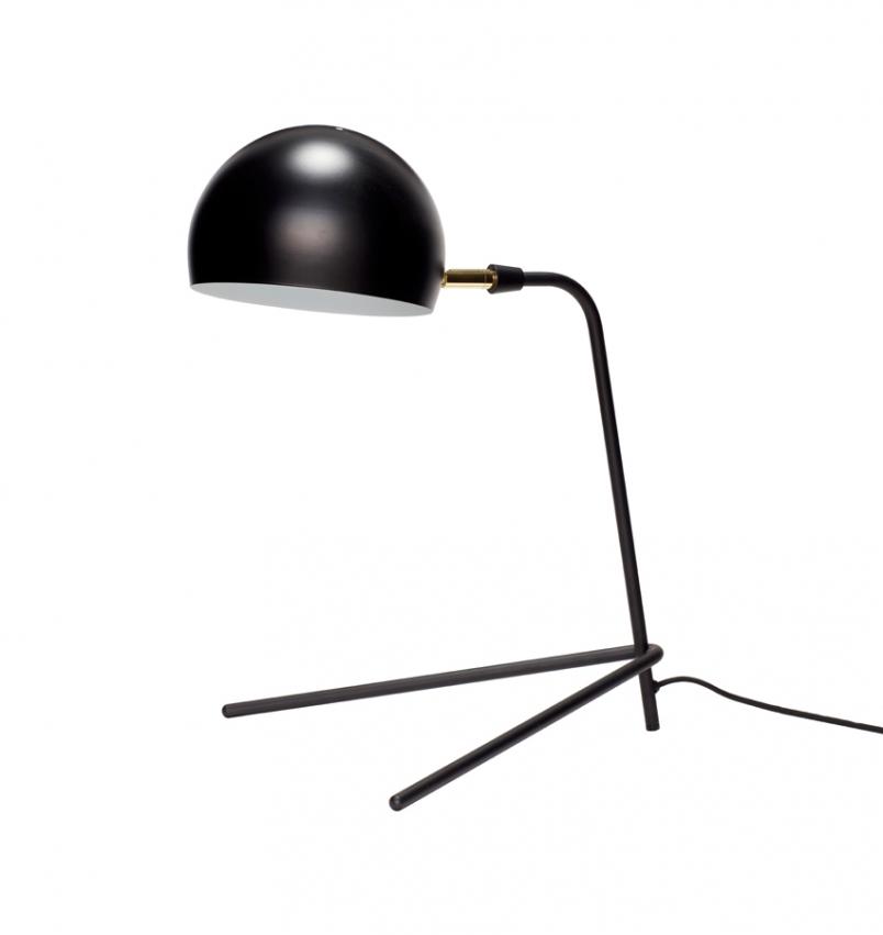 Bordslampa svart