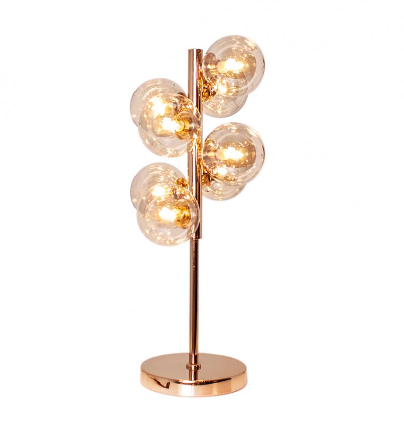 Splendor Bordlampa Guld/amber
