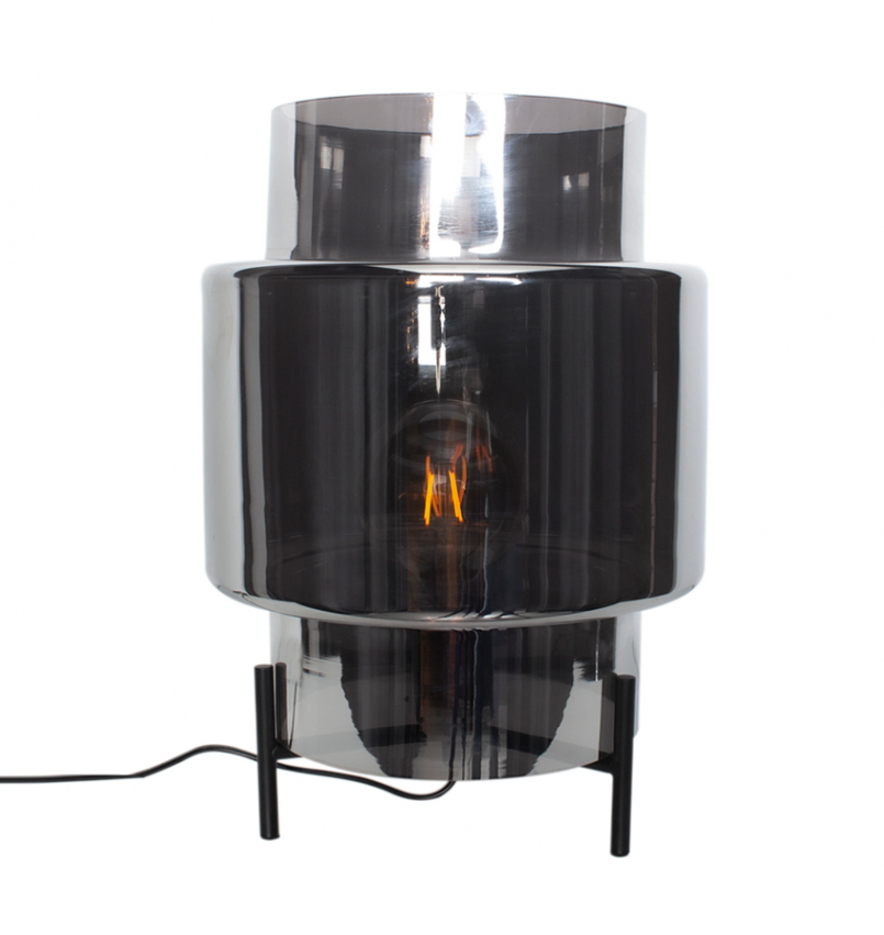 Ebbot bordslampa 37 Rökgrå