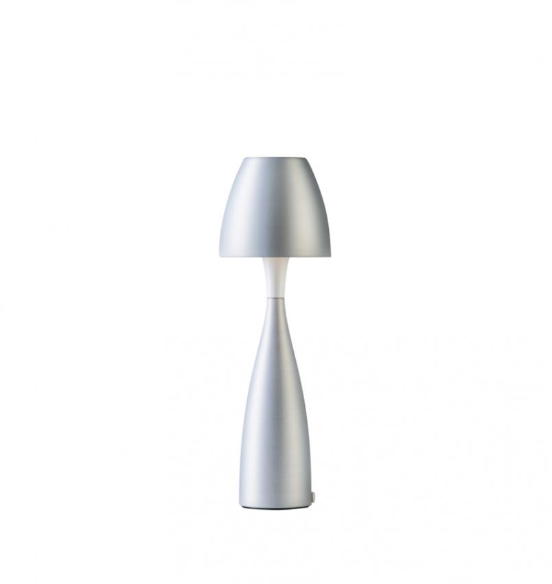 Bordslampa Anemon liten silver