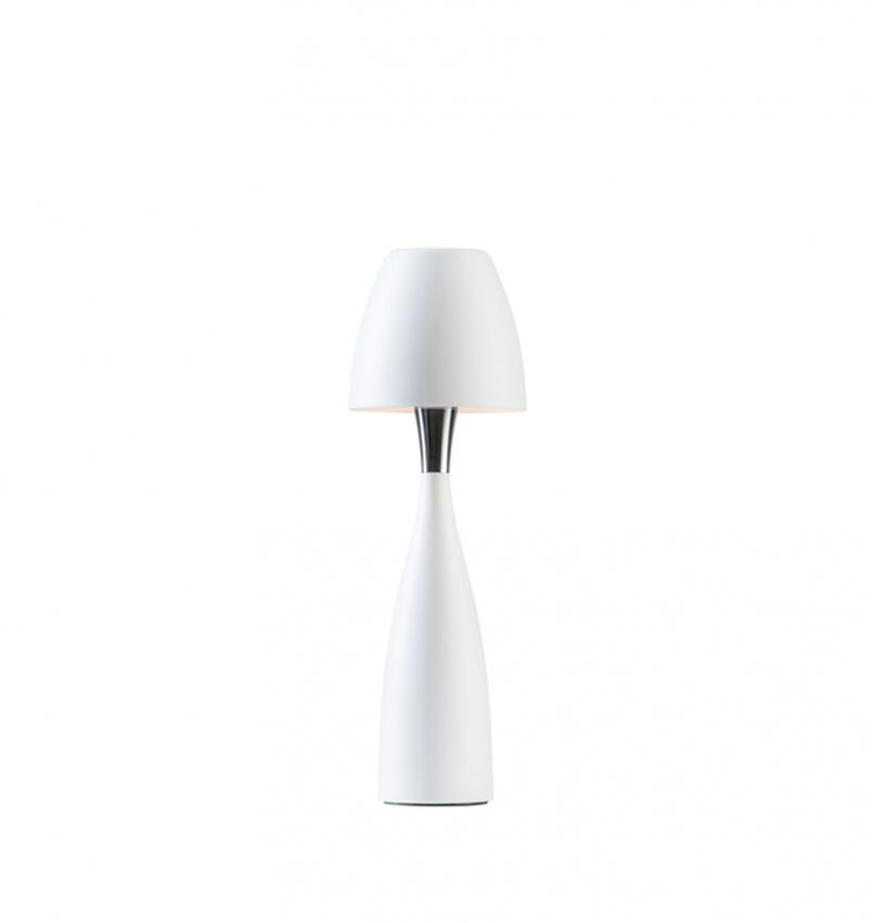 Bordslampa Anemon liten vit