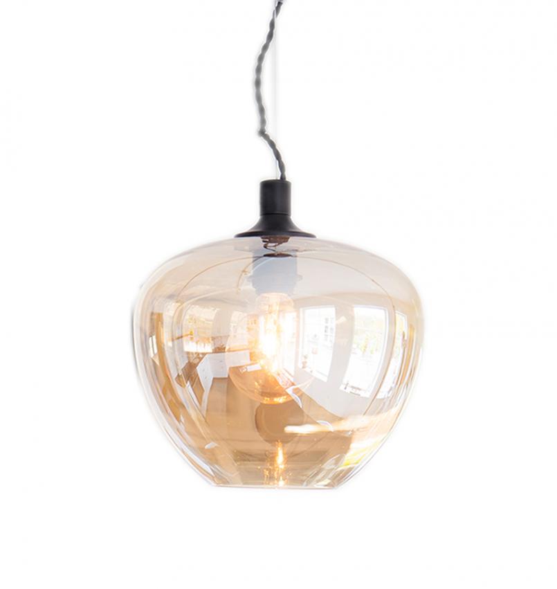 Bellissimo Taklampa Ø28cm Amber