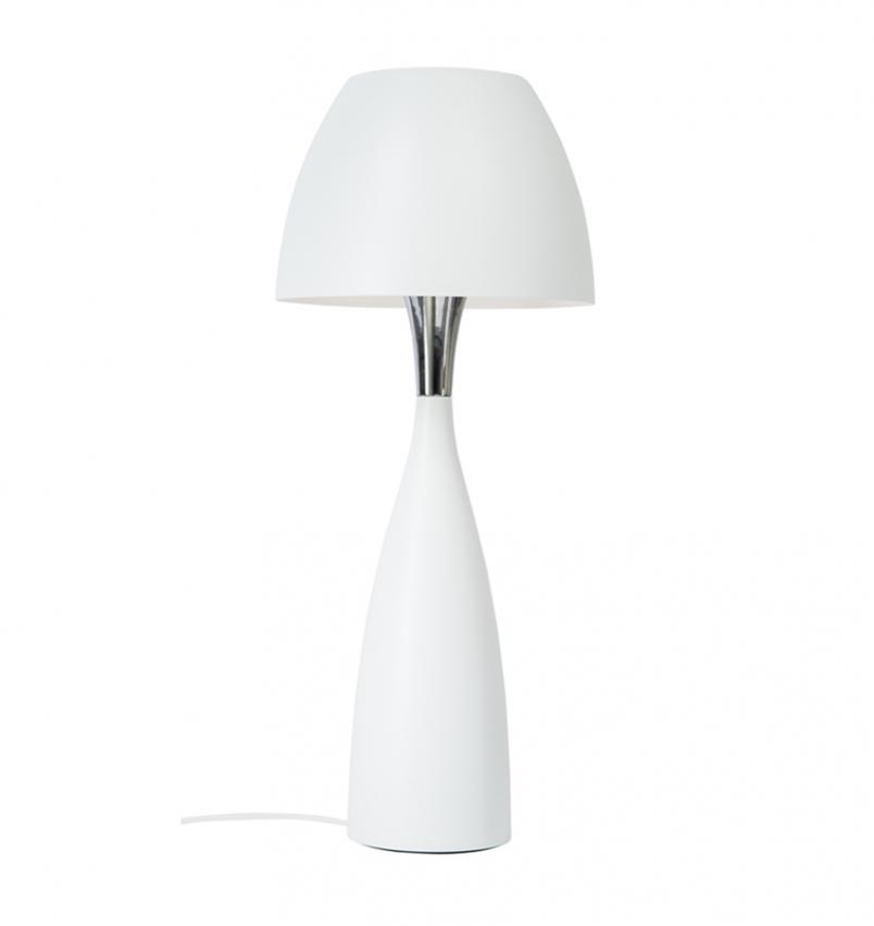 Bordslampa Anemon stor vit