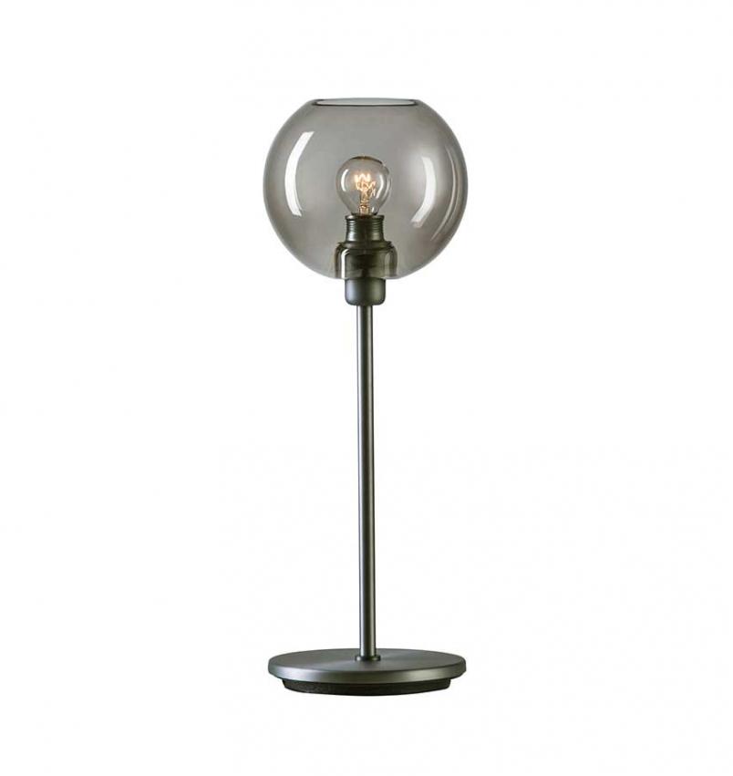 Bordslampa Gloria Oxidgrå/Rökfärgat