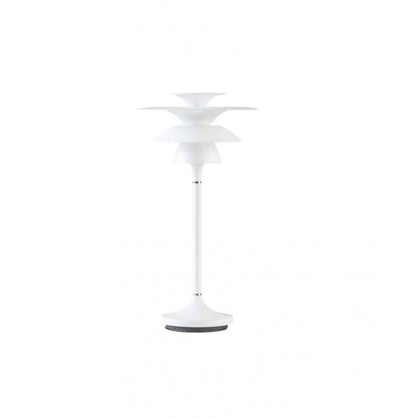 Bordslampa Picasso 18 Mattvit, Liten