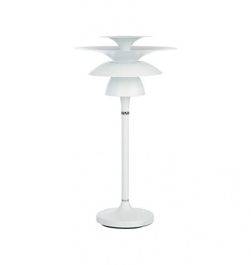 Bordslampa Picasso 27 Mattvit