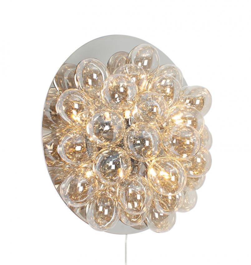 Gross Vägglampa Ø60cm Amber