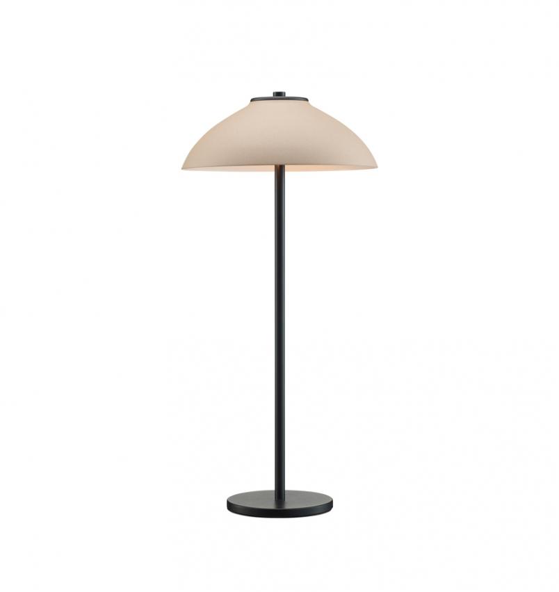 Bordlampa Vali High svart/sand