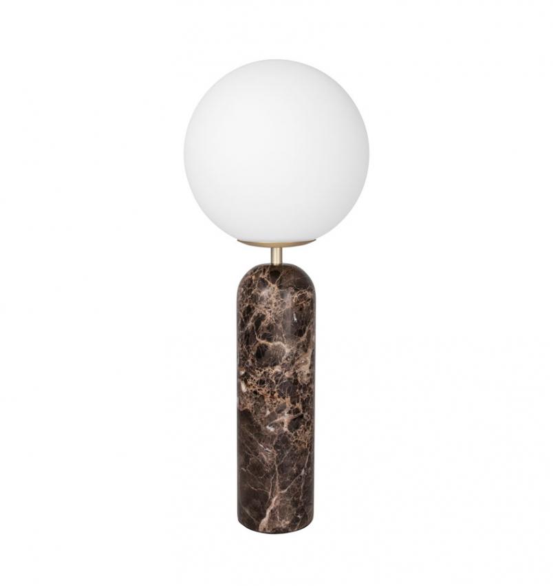 Bordslampa Torrano brun