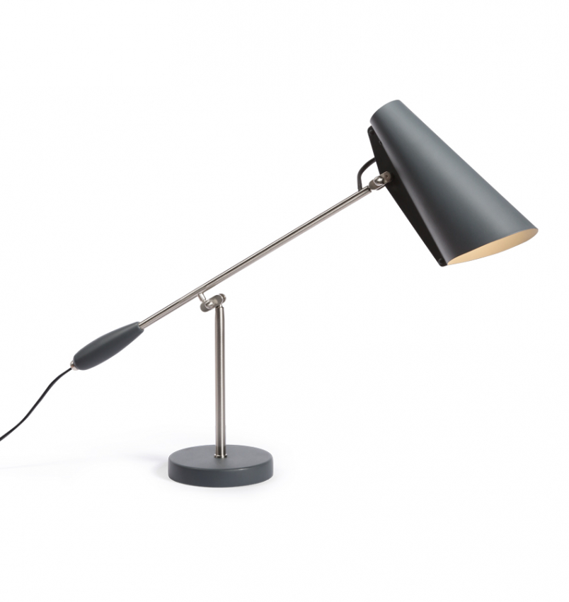 Birdy Bordslampa, Grå