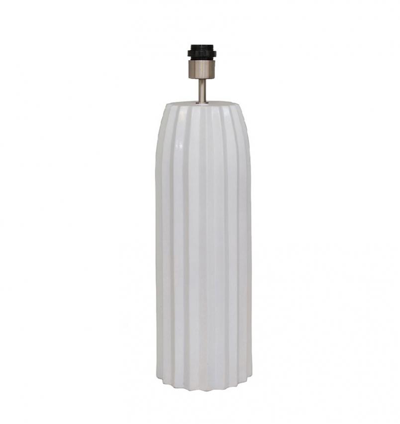 Bullet Lampfot vit