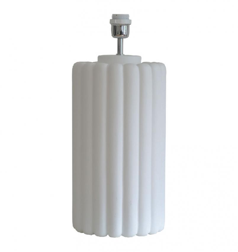 Odessa Lampfot vit 49cm