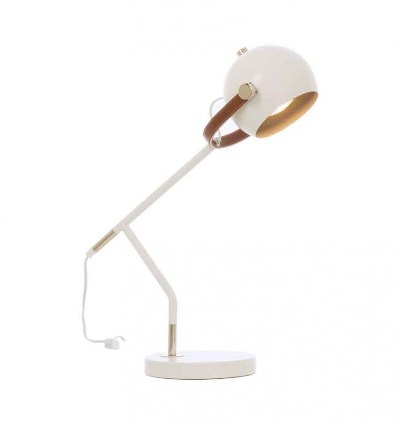 Bow bordslampa vit