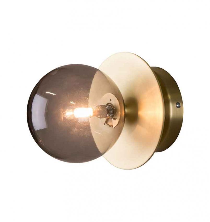 Vägg/Plafond Art Deco IP44 Rök