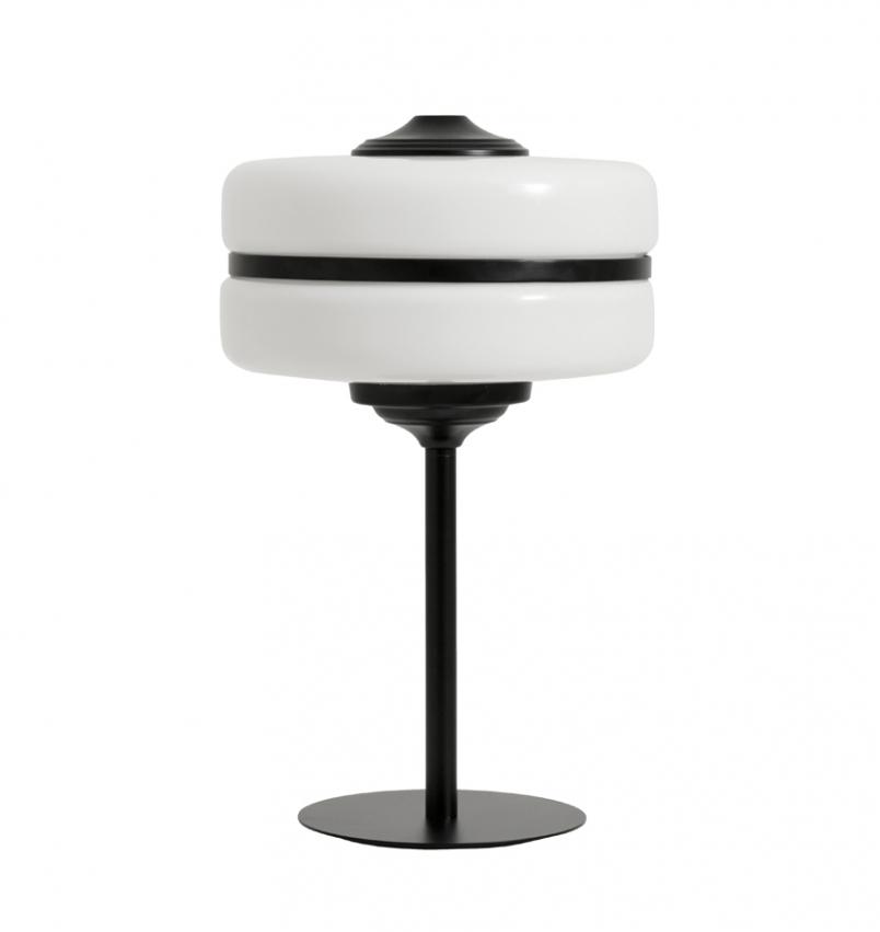 Bordslampa ICON Svart/Vit