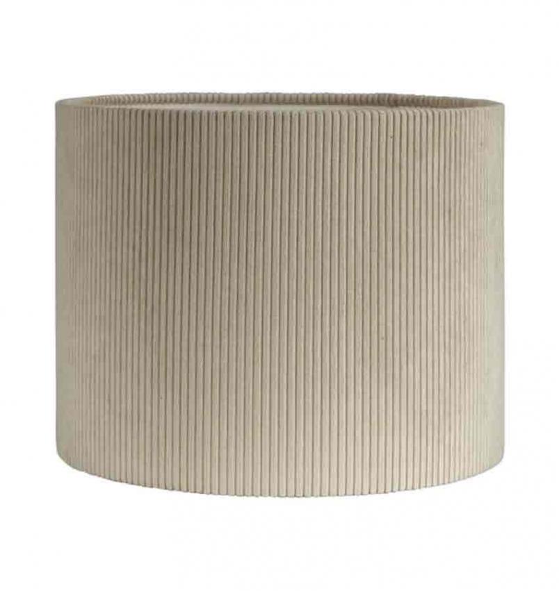 Kerstin manchester lampskärm beige 25cm