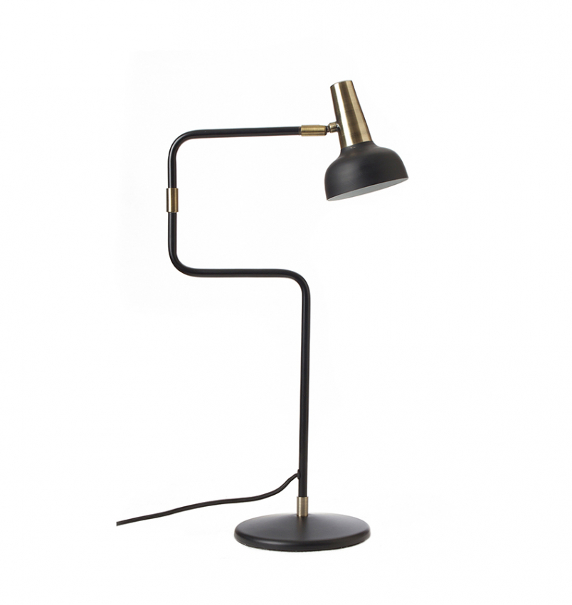 Ray bordslampa svart/mässing
