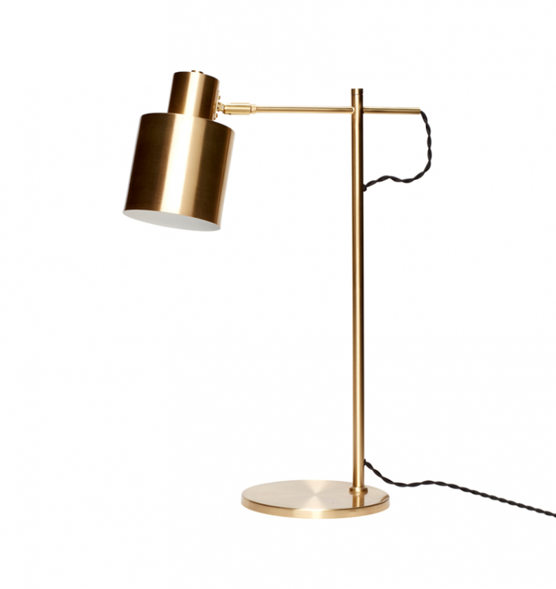 Bordslampa skrivbord mässing